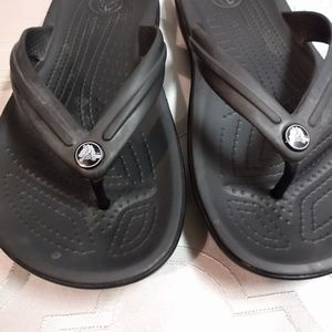 Crocs thongs M 4 W 6 gray